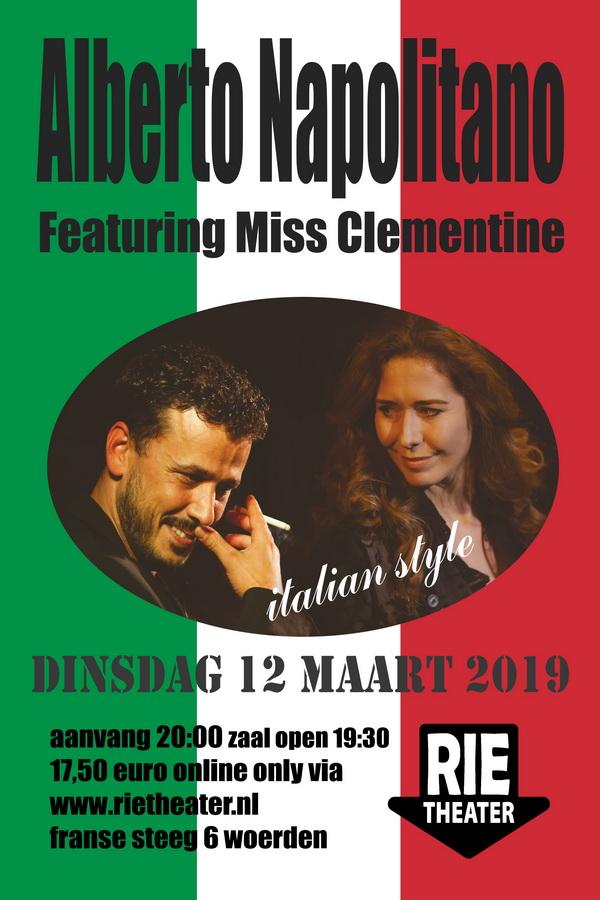 Alberto Napolitano & Miss Clementine